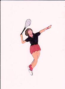 TENNIS HERO - ART CREATIONS BY OLGA