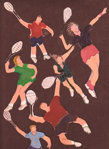 TENNIS PEOPLE - ART CREATIONS BY OLGA
