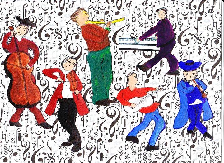MAJIC MUSIC - ART CREATIONS BY OLGA