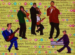 JAZZ MUSICIANS HAPPY BIRTHDAY