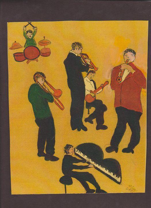 JAZZ MUSIC - ART CREATIONS BY OLGA