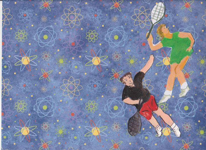 TENNIS PARTNERS - ART CREATIONS BY OLGA