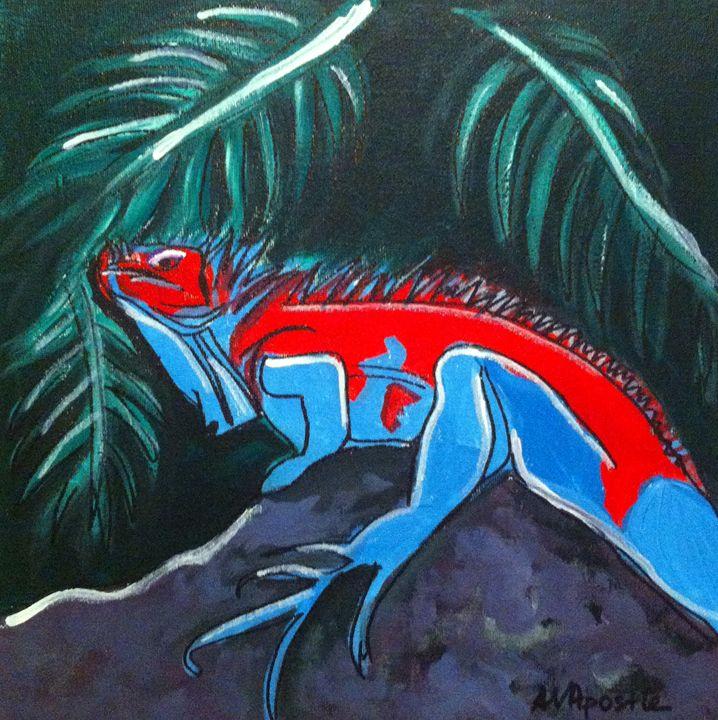 Iguana - A.V.Apostle Fine Art