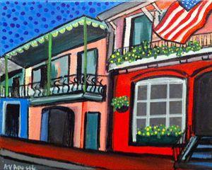 New Orleans #1 - A.V.Apostle Fine Art