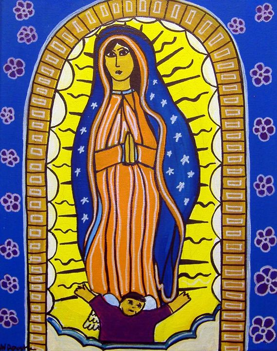 Our Lady of Guadalupe - A.V.Apostle Fine Art