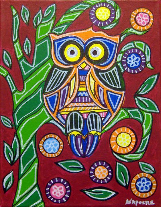 Owl - A.V.Apostle Fine Art