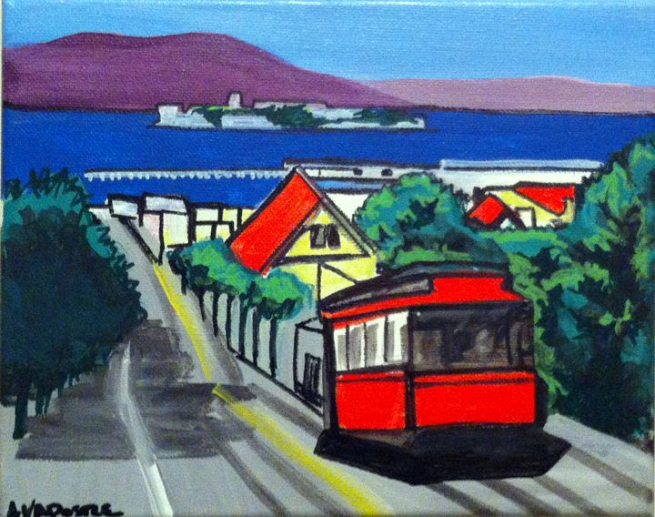 San Francisco Cable Car #1 - A.V.Apostle Fine Art