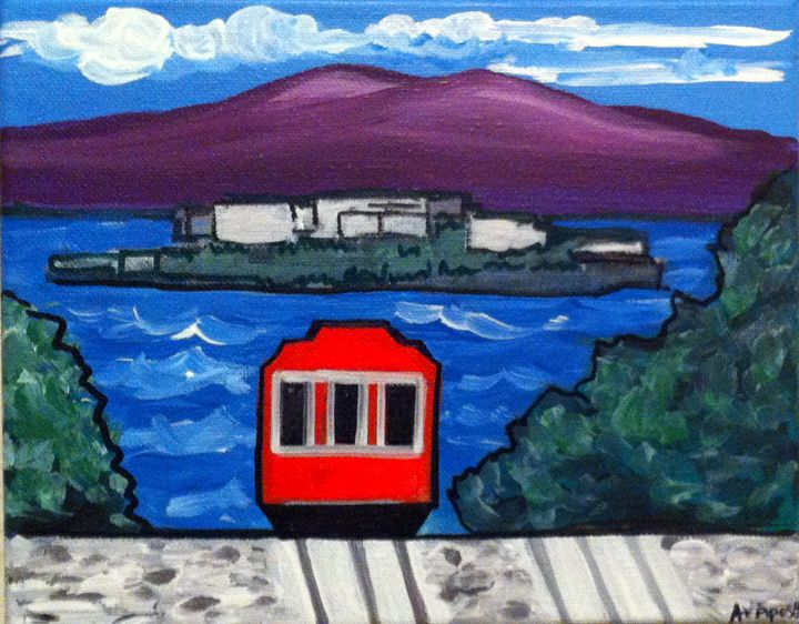 San Francisco Cable Car #2 - A.V.Apostle Fine Art