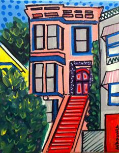 San Francisco Victorian #1