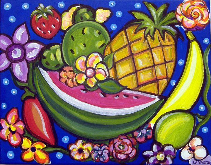 Tropical Fruit - A.V.Apostle Fine Art