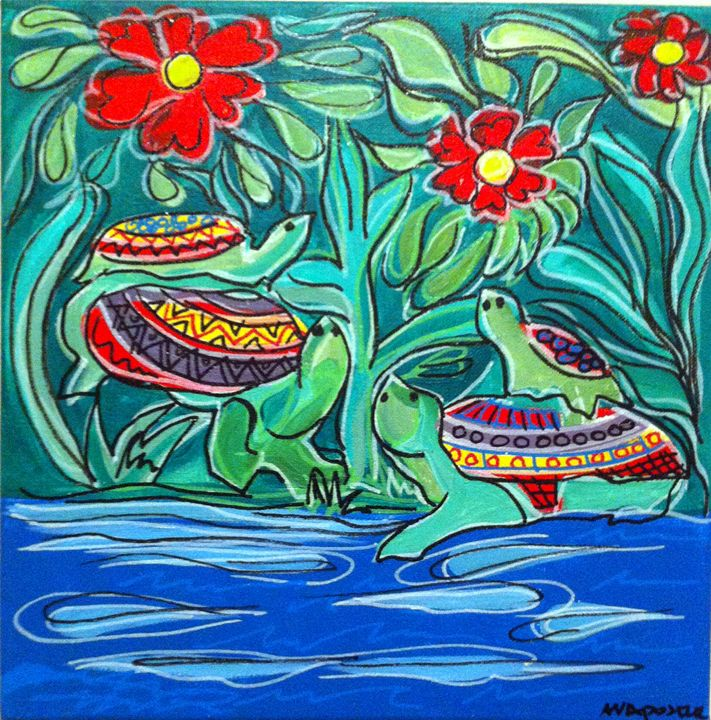 Turtles - A.V.Apostle Fine Art