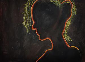 Women in dark