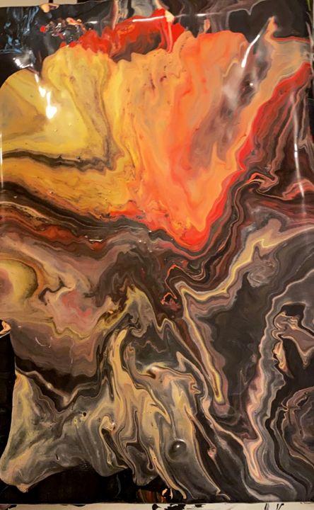 Abstract volcano - artsy stuff