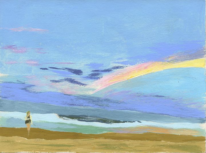 Beach Scene - Walker Masiclat