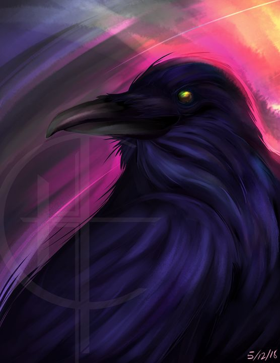 Ravens eye - Hawknestdesigns