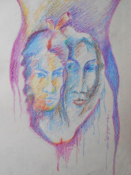 Heart Bit in Womb - Roy_all Art Gallery