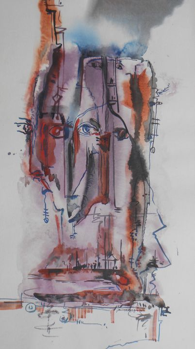 Head and hidden - Roy_all Art Gallery