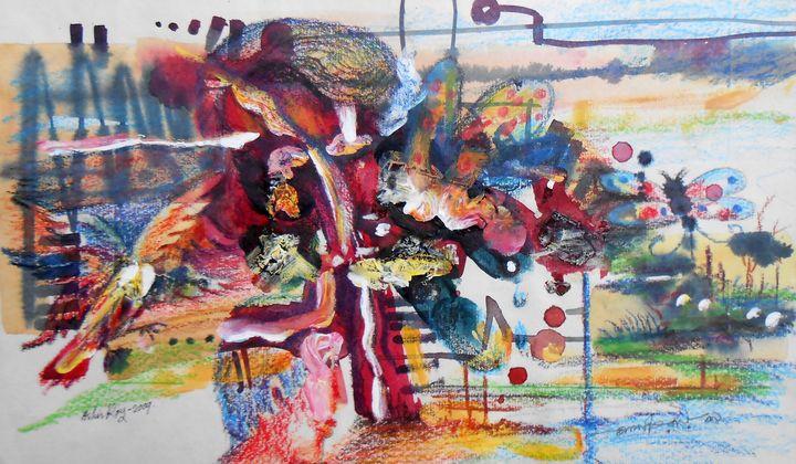 My Gerden - Roy_all Art Gallery