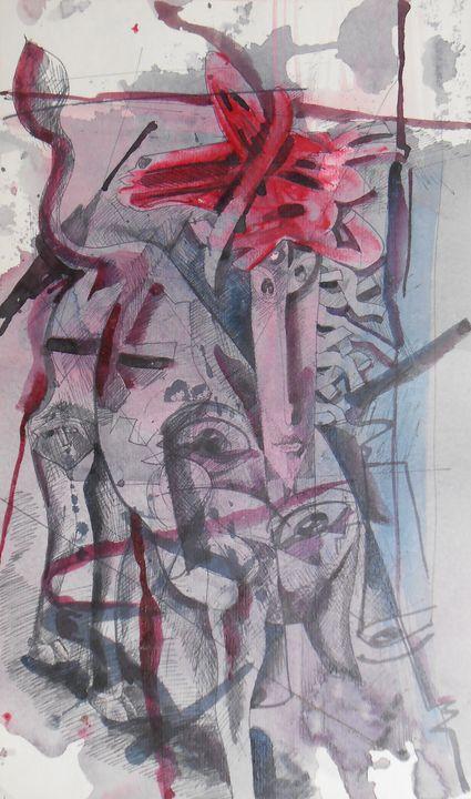 Donkey Rider - Roy_all Art Gallery