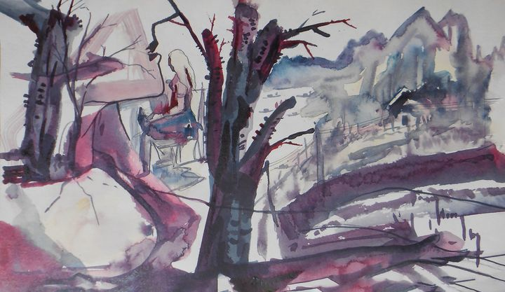 My Brest Village - Roy_all Art Gallery