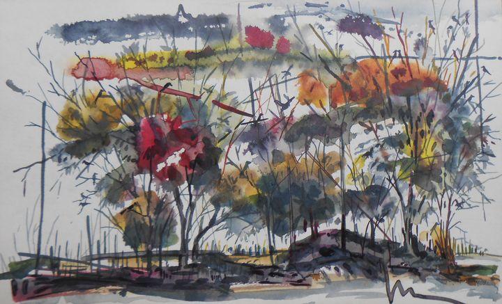 Bird Home landscape - Roy_all Art Gallery