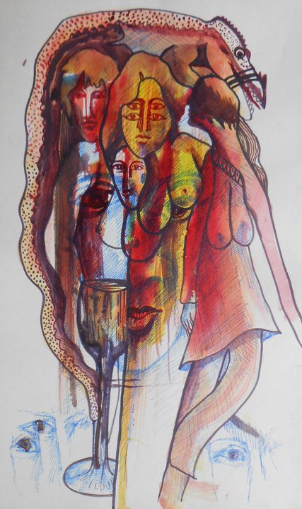 Human Drags - Roy_all Art Gallery