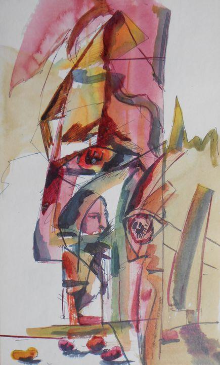 Self portrait - Roy_all Art Gallery