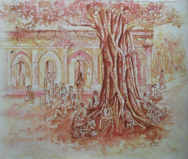 Chowronggi Magura - Roy_all Art Gallery