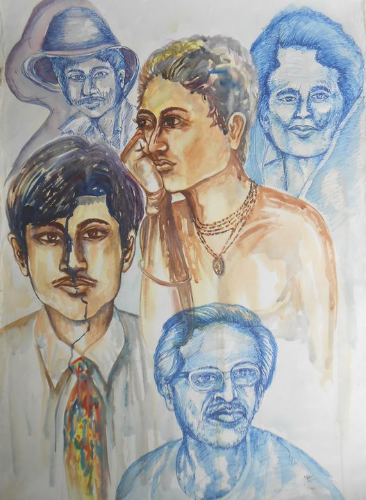Portrait - Roy_all Art Gallery