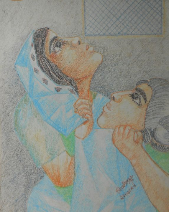 Mother and Child - Roy_all Art Gallery