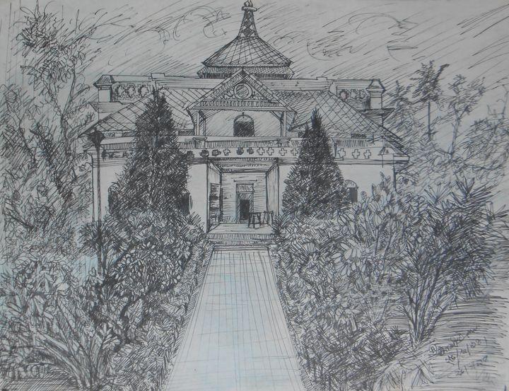 Kuthibarri ( House of Rabindranath) - Roy_all Art Gallery