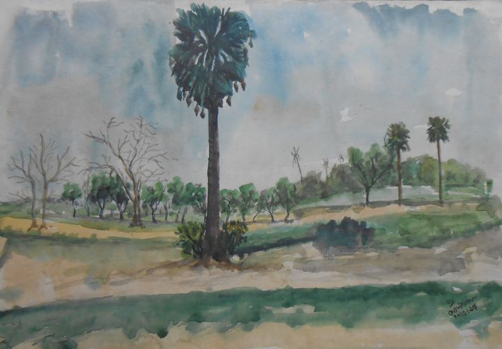 A  Palm Tree - Roy_all Art Gallery