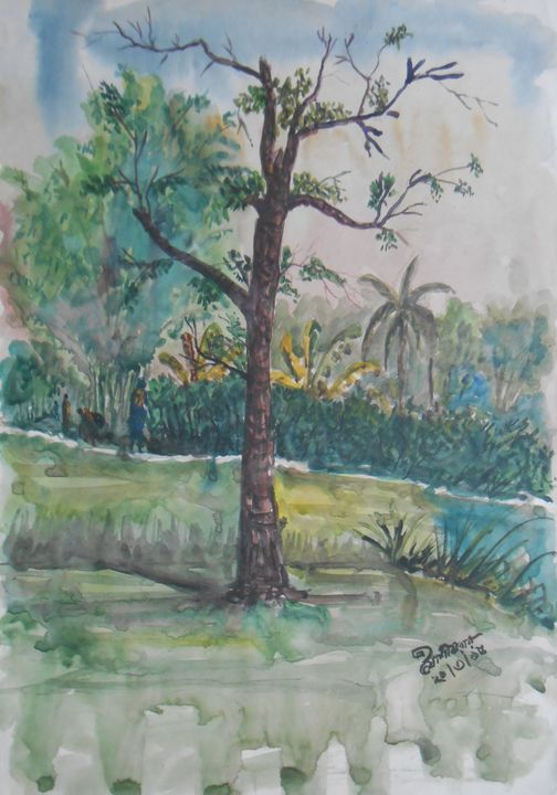 Mandala Tree - Roy_all Art Gallery