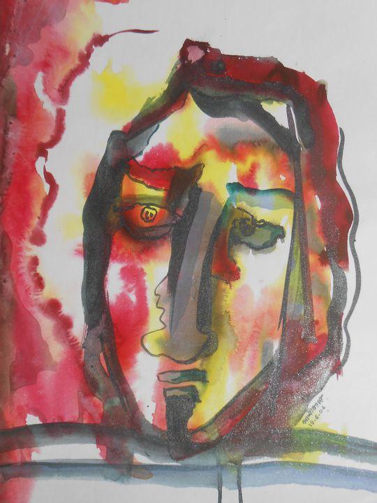Not happy - Roy_all Art Gallery