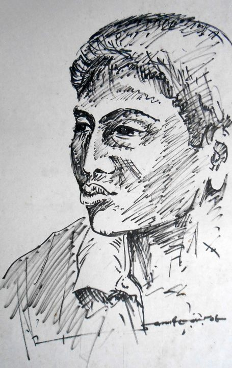 Fast Portrait - Roy_all Art Gallery