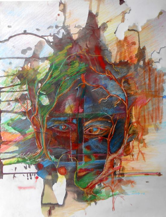 Face and Tree, - Roy_all Art Gallery