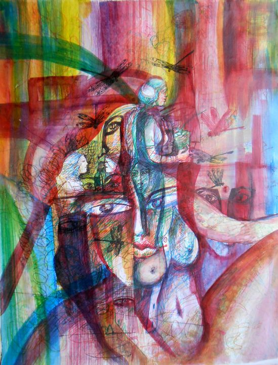 Flying my mind - Roy_all Art Gallery