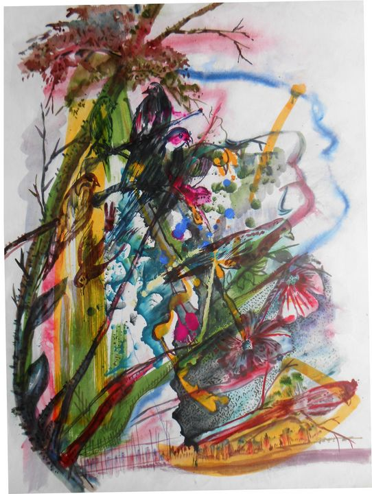Flower Plant - Roy_all Art Gallery