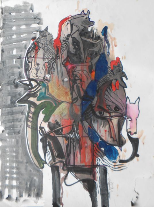 Abstract animal - Roy_all Art Gallery