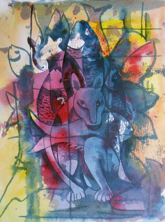 Fish Huntter - Roy_all Art Gallery