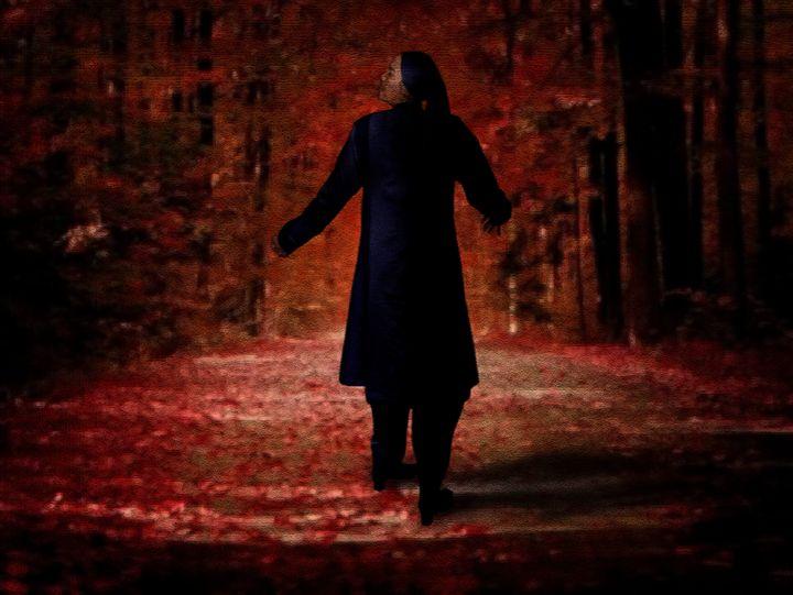 Lost In Haunted Forest - Third Eye Digital Artworks