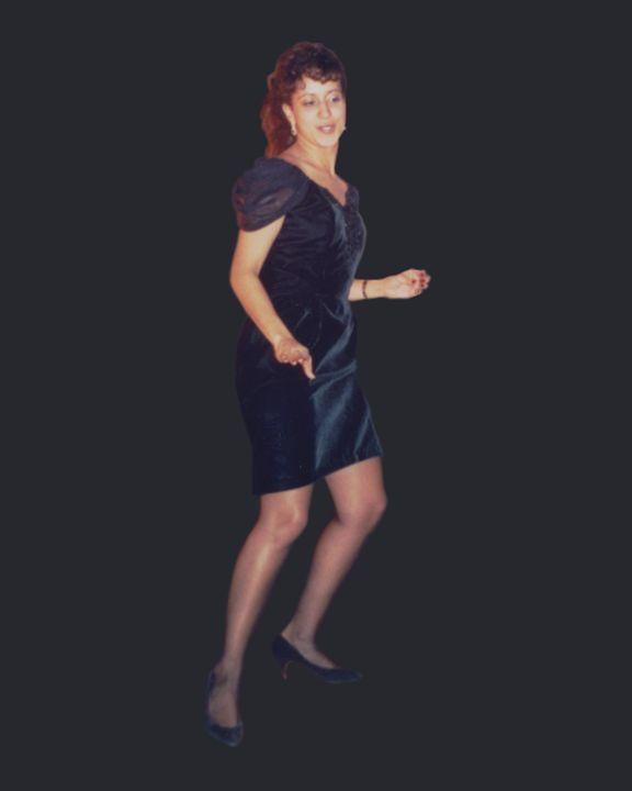 Sexy Woman Dancing - Third Eye Digital Artworks