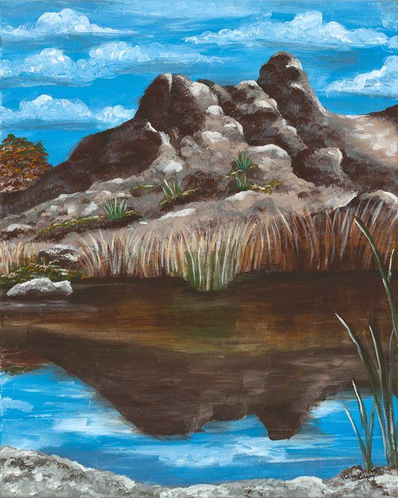 Ayers Lake - Desert Life Studio