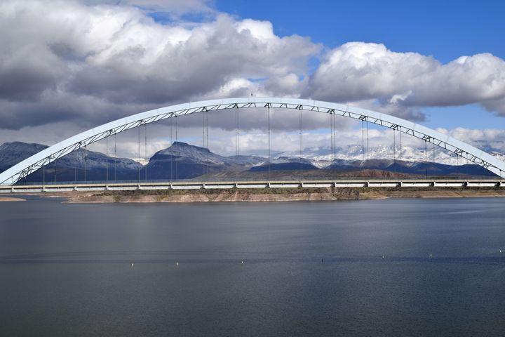 Bridge at Roosevelt Lake - Desert Life Studio