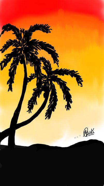 Sunset bliss - Atharvaarts