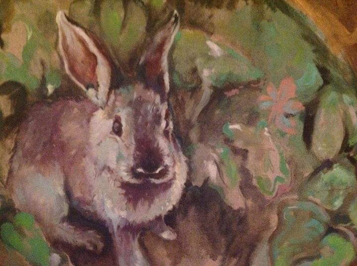 Bunny Detail - Cognivas Arts