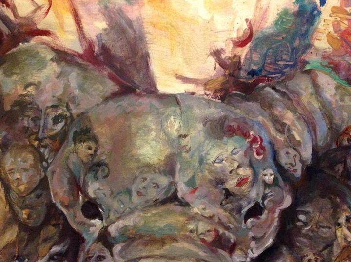 Elephant Detail - Cognivas Arts