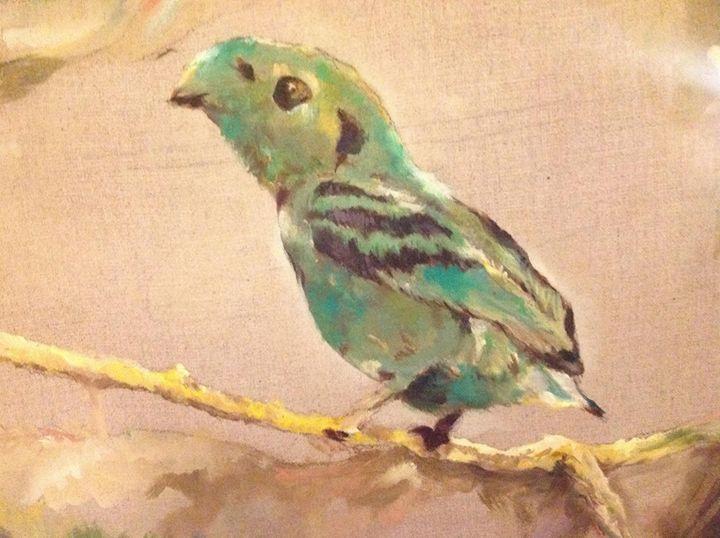 Small Bird Detail - Cognivas Arts