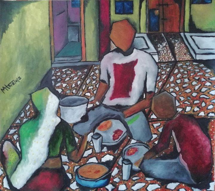 Dinner - Mah art