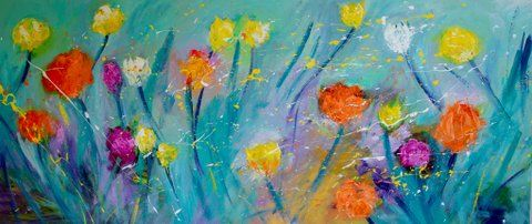 Flowers In The Wind - Art At The Ridge (Antigua & Barbuda)